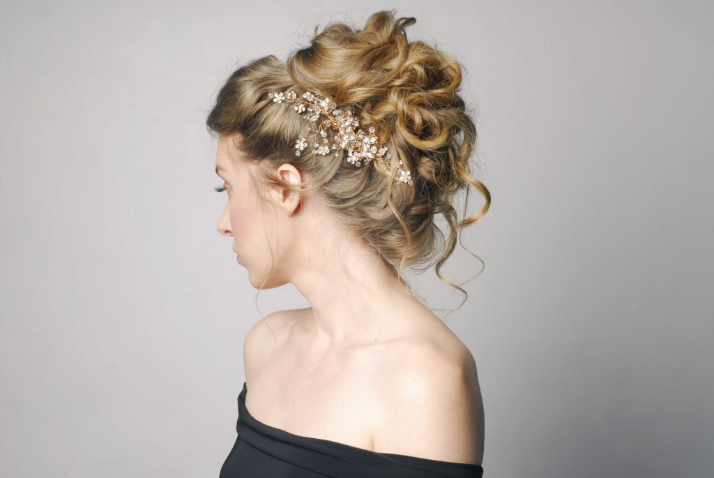 Asheville wedding hair